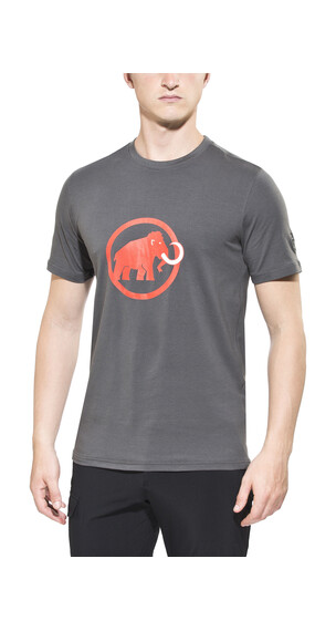 Mammut Logo T-Shirt Men graphite